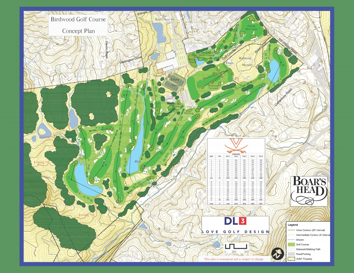 Birdwood Golf Course Concept Plan