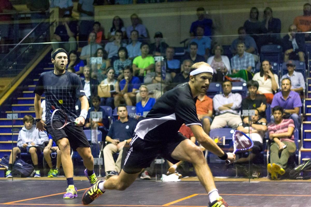 UVA squash players