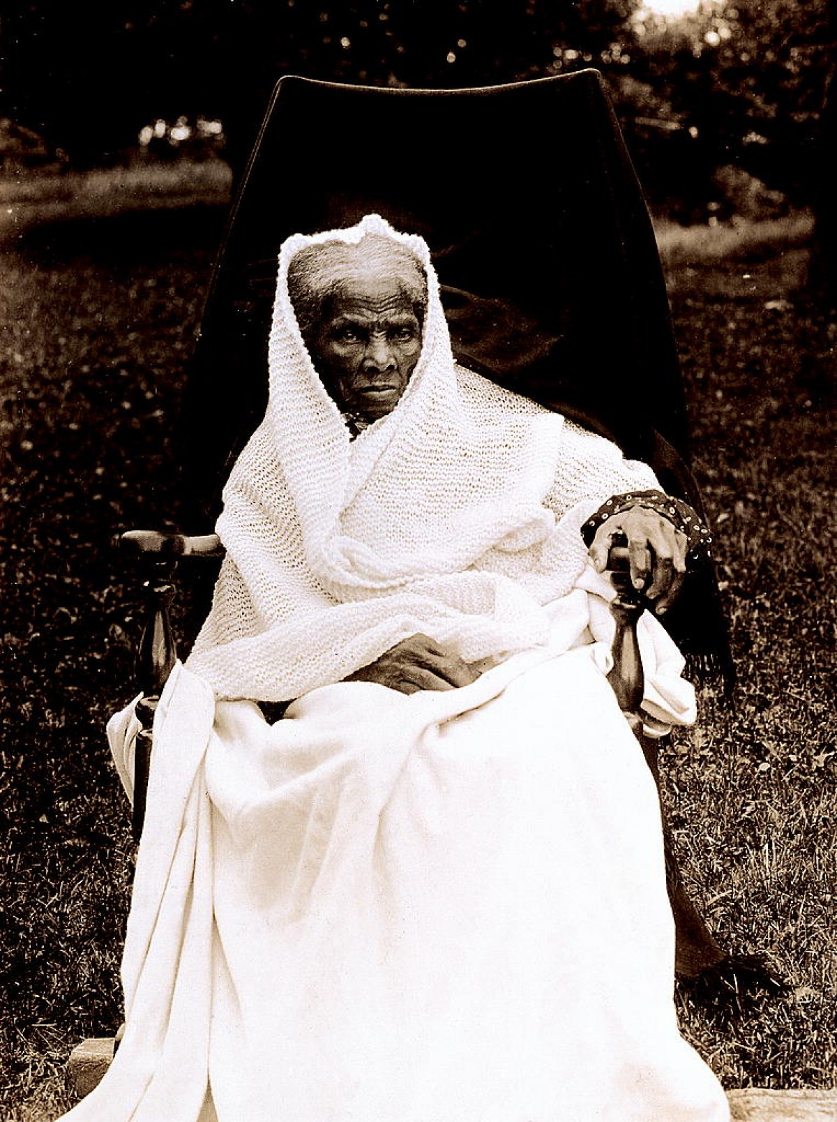 Harriet Tubman at 90